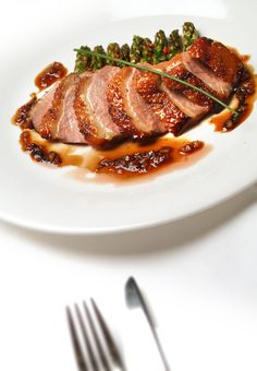 Duck Dish - Fahrenheit Grill Restaurant at Clontarf Castle Hotel My Favorite Food, Favorite Recipes, Steak Dishes, Homemade Pastries, Grill Restaurant, Romantic Meals, Chicken Stir Fry, Best Dishes, No Cook Meals