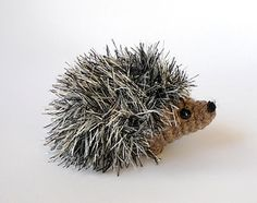 baby hedgehog crochet