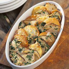 Steinpilz-Kartoffeln aus dem Ofen