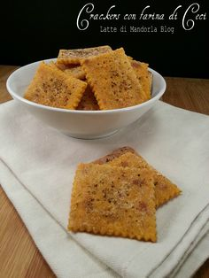 Crackers with chickpea flour gluten-free and without yeast with … – Healthy Meals Gluten Free Recipes, Vegan Recipes, Cooking Recipes, Crackers, Sin Gluten, Gluten Free Meatballs, Food Humor, Light Recipes, Creative Food