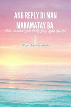 Ang reply dili makamatay!!! Bisaya Quotes, Tagalog Quotes, Quotable Quotes, Hugot Quotes, Mickey Mouse Wallpaper, This Or That Questions, Movies, Movie Posters, Films