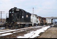 RailPictures.Net Photo: NREX 2009 National Railway Equipment (NREX) SD20 at Hopkins, Minnesota by Dave Schauer