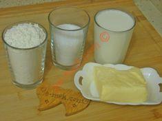 Sade Un Helvası İçin Gerekli Malzemeler Glass Of Milk, Food And Drink, Sims, Mantle, The Sims