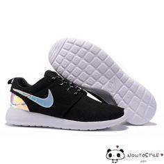 separation shoes 82d8d cbe1d Nike Roshe Run Mesh Black White Hologram Iridescent Shoes Black Friday Shoes,  Pumas Shoes,