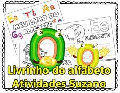 Meu Livrinho do alfabeto Education, Cards, Blog, Punctuation Activities, Interactive Activities, Abc Centers, Teaching Punctuation, Alphabet Book, Classroom