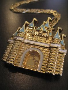 Disney Couture - Magic Castle Necklace.