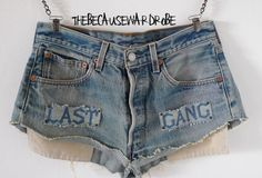 High Waisted Levis Shorts High Waisted Denim by TheBecauseWardrobe