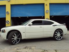 Dodge Charger On 24 Inch Rims Find the Classic Rims of Your Dreams - www.allcarwheels.com