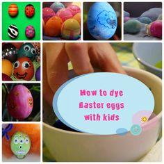 7 ιδέες για να βάψεις τα Πασχαλινά αυγά μαζί με τα παιδιά by Despinas Studio