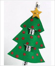 CHRISTMAS TREE PENCIL TOPPER | learningenglish-esl