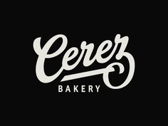 One of a few iterations for a Chinese bakery called Cerez. Is it good readable?   Happy Monday folks!