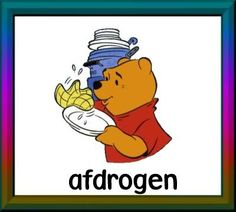 afdrogen Daily Schedule Cards, Pooh Bear, Cool Websites, Winnie The Pooh, Disney Characters, Fictional Characters, School, Beer, Prints