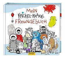Krickel-Krakel Freundebuch von Die Krickelkrakels http://www.amazon.de/dp/3789166324/ref=cm_sw_r_pi_dp_hIHbxb0QBMEEX