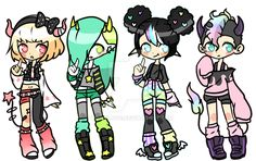 Adoptables || Closed by Tenshilove on DeviantArt