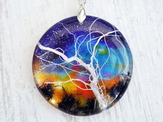 Тree of life jewelry pendant amulet - amulet my universe - tree of my universe - root plants - tree of my universe - resin pendant - necklace pendant smola- resin flowers - dried flowers pendant - tree bark - purple petunia petals - linden Tree is a symbol of a man and the way. My pendants