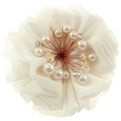 barrette fleur en tissu - Recherche Google