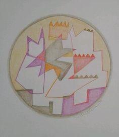 "Mandala  ""abstract "" , Marleen Peskens"