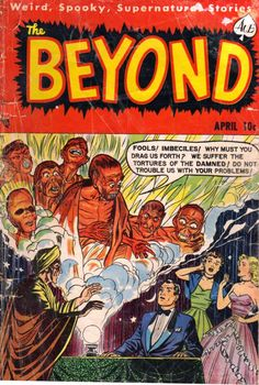 Comic Book Cover For The Beyond #10