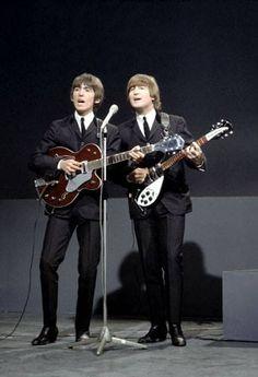 George Harrison & John Lennon