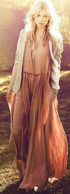 Trend Alert : Bohemian Maxi Dress Get On Fire!  # #bohemian ☮k☮ #boho
