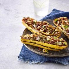 Quinoa-Stuffed Delicata Squash - EatingWell.com