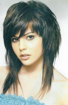 Haircut Ideas shag haircuts | Medium Length Shag Hairstyle