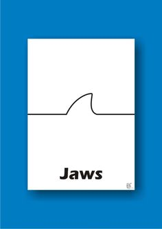 #onelinemovieposter #one_line_movie_poster #movie #movieposter #movie_poster #poster #posterart #poster_art #art #design #graphic #graphicdesign #graphic_design #jaws