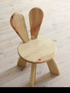 bunny baby chair