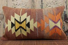Traditional Pillow Elegant Pillow 14 x 24 Fast by kilimwarehouse, $58.00