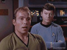 Almost any change would be a distinct improvement. – DeForest Kelley as snarky Bones – Star Trek TOS Star Trek Original Series, Star Trek Series, Star Trek Tos, Star Wars, Star Trek Images, Starship Enterprise, William Shatner, Star Trek Universe, For Stars