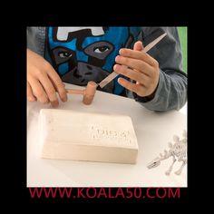 Juego de Paleontología para Niños - 3,08 €  ¡Despierta el gusto por la ciencia en los peques de la casa con el  juego de paleontología para niños! Este juego educativo les hará sentirse unos auténticos paleontólogos y tendrán un fósil...  http://www.koala50.com/regalos-para-ninos/juego-de-paleontologia-para-ninos