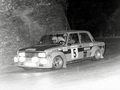 Salvador Cañellas-Jordi Sabater. SEAT 124-1800. Cataluña Rally 1977