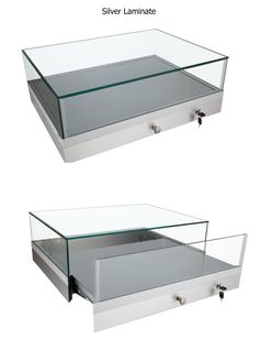 GL202 Portable Countertop Jewelry Case