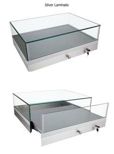GL202 Portable Countertop Jewelry Case