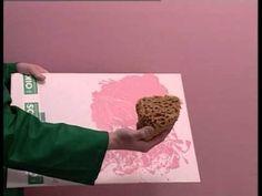 ▶ Ottocento Antico Velluto / effetto damasco - come applicare la soluzione decorativa OIKOS - YouTube