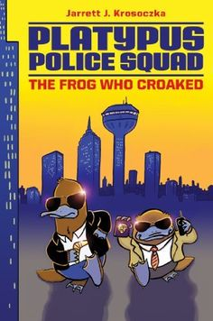 Platypus Police Squad: The Frog Who Croaked, http://www.amazon.com/dp/B009NG136W/ref=cm_sw_r_pi_awdm_99akxb1WB0WYB