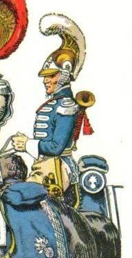 1e Carabinier c1812 by Rousselot: