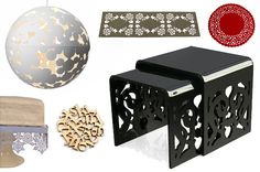 Laser-Cut Wood Designs | Design Trend: Laser-Cut Accessories | At Home with Kim Vallee