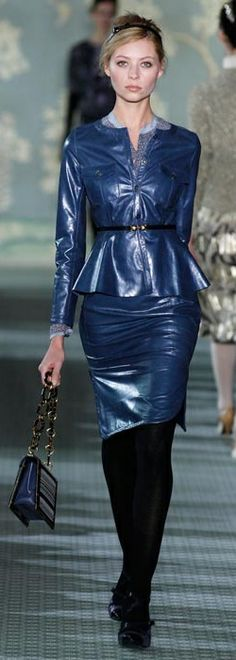 Tory Burch Fall 2012 | Leather
