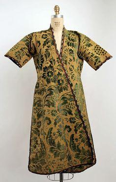 Turkey, robe, silk, cotton, wool, 20th c