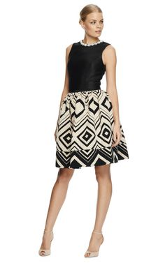 Geometric-Jacquard Pleated Skirt by Martin Grant - Moda Operandi