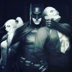 @tiagodatriniti @suicide.squad.fans awesome pic! #batman #joker #harleyquinn #suicidesquad #dc  #thedarkknight