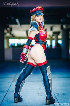 """demonsee: """"  VertVixen - M. Bison Cammy Costume and Model: http://www.facebook.com/aliciacosplay Original concept by: http://www.facebook.com/artofty Photo by: http://www.facebook.com/yorkinabox """" - COSPLAY IS BAEEE!!! Tap the pin now to grab yourself some BAE Cosplay leggings and shirts! From super hero fitness leggings, super hero fitness shirts, and so much more that wil make you say YASSS!!!"""