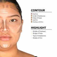 Beauty Makeup, Face Makeup, Cream Contour, Warm Undertone, Contouring And Highlighting, Jawline, Second Skin, Illusions, Eyebrows