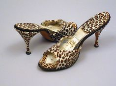 '50's Leopard Spring-o-lators by Beth Levine