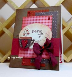 SC485 ~ Perk Up ~ by Toy - Cards and Paper Crafts at Splitcoaststampers