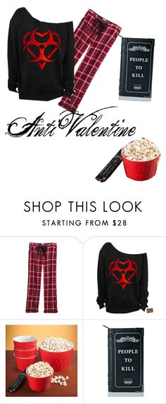 """""""anti valentine"""" by aconner813 on Polyvore featuring Fat Face and Killstar"""