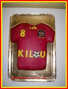 Gâteau maillot de foot