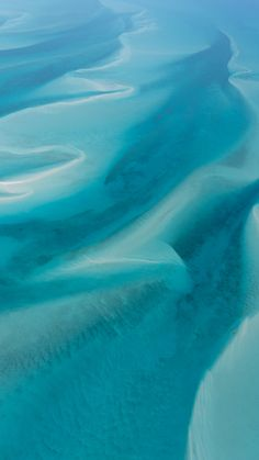 View from above the crystal clear Bahamian waters.