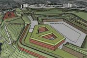 3D-model van Citadel Diest